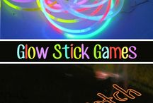 games glow sticks