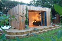 Outdoor Rooms / Pods, outdoor rooms, summerhouses, sheds