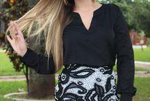 Vestido Estiloso / Vejam este lindo vestido, é perfeito, com acabamento de bordado e guipir.