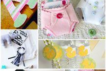 Baby Shower Crafts/Ideas