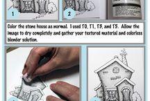 Copic tutorials