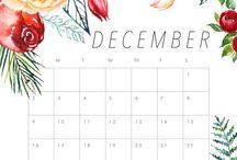 Calendário imprimir