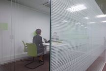 Window ~ Frost ~ Print / Window graphic treatments for privacy, aesthetic, function and effect in the workplace and at home
