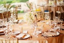 Table linen and number ideas