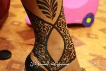 Henna Style - Sudanese (most are PPD images) :(