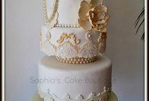 baroque cake decor