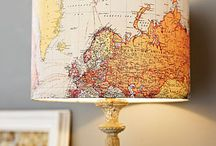 Inspiration DIY maps / What to do with maps, DIY Tips / by Bijzonder Plekje
