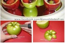 Decoracciones de fruta  / by Marta Giron
