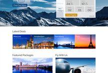 Airline - web & app
