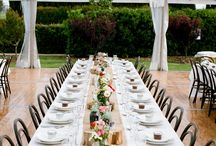 Wedding design ideas / Flower and table designs