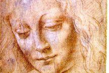 Da Vinci☆ / Léonard de Vinci, né à Vinci le 15 avril 1452 et mort à Amboise le 2 mai 1519, est un peintre florentin et un homme d'esprit universel, à la fois artiste, scientifique, ingénieur, inventeur, anatomiste