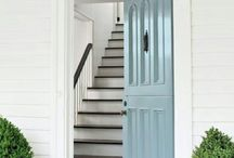 INSPIRATION: Door colors
