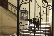 Wrought iron features