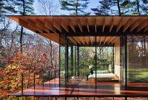 Glass Wood House - Kengo Kuma