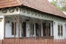 Case de muzeul satului