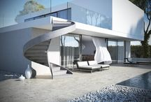 Concrete Staircases / Concrete Design Staircases for Interiors and Outdoor