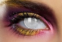 Mesh and Screen Lenses / Seeking that finishing touch to your unique and soul-shuddering look? Then Coloured Contacts has the solution! Why not pair your funky ensemble with a pair of Mesh or Screen Lenses! Trust us... you won't regret it!