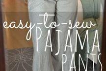 Diy easy pj pants