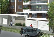 Condominio Cricket / Edificio conformado por 02 torres de 05 pisos, 17 departamentos de 1, 2, 3 y 4 dormitorios. Ubicación: Av. Juan de Aliaga 275, San Isidro. Fecha de entrega: Febrero del 2009