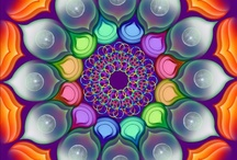 Mandalas   ॐ ☬ ॐ / Exploring Soul with Mandalas Om Shanti Om ~ peace for the all human kind, peace for all living and non-living beings, peace for the universe, peace for each and every thing in this whole cosmic manifestation.