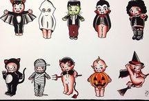 Halloween tatto