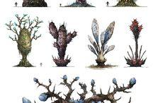 pixel arts 3d vegetation