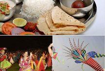 Gujarati Culture and Food / Traditional Gujarati Thali food is very popular over North Gujarat & Gujarati's food culture.