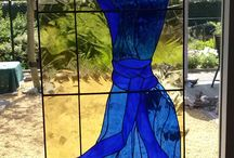 Stained Glass and Tiffany - own work