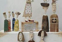 κουκλες ξυλινες