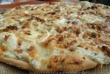 Pizza tartes salees