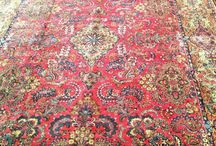 Old Persian Rugs / These persian rugs are ancient!