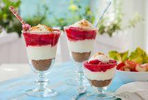 Sunde snacks & desserter