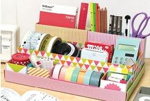 Desk Organisation / by Bridgette Louise