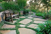 stepping stone pathways