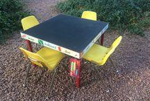 Furniture I've repurposed !