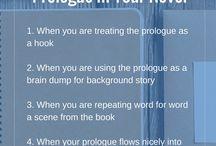 Writing Tips - Writing Prologues