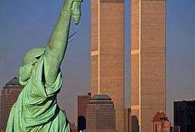 Twin Towers.  New York.