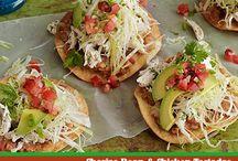 Mexican or tex mex  recipes