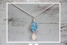 Etsy Jewels under £20! / A range of pendants, handmade by GIRLSTONE