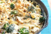 hoender brokolie pasta