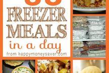 Freezer Meals / Food