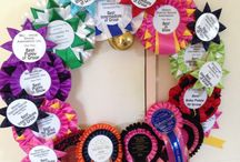 Show dog Ribbons / Wreath