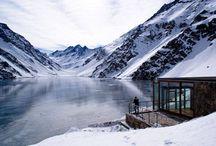 Chalet C7 / Chalet C7, útočiště v zamrzlé krajině chilských And nabízí přímo pohádkový výhed...