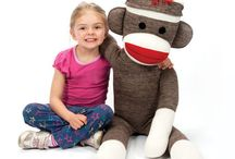 Sock Monkey Swag / All Sock Monkeys .. All the time.