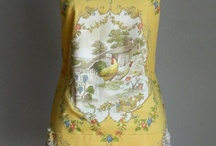 Aprons / On an apron project and looking for chickens and shabby chic and french!