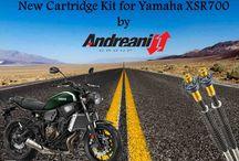 Yamaha XSR700 / Nuovo Kit Cartuccia per Yamaha XSR700  New Front Fork Cartridge kit for Yamaha XSR700