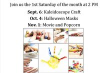 Centennial Park Library Youth / Crafts and programs that have been done for children in grades K-5.