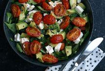Salater og tilbehør opskrifter