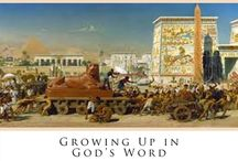Bible - Exodus / Curriculum, crafts, activities for the book of Exodus