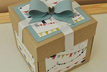 Детские открытки и коробочки